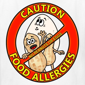 Food Allergy Alert Design Kids' Shirts - Kids' T-Shirt