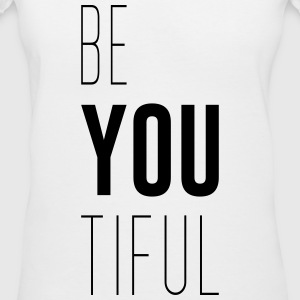 Beyoutiful - Women's V-Neck T-Shirt