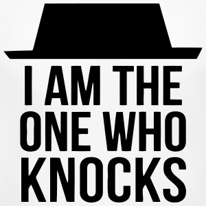 I AM THE ONE WHO KNOCKS! Women's T-Shirts - Women's Maternity T-Shirt