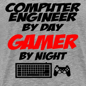 COMPUTER ENGINEER GAMER T-Shirts - Men's Premium T-Shirt