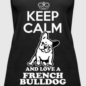 French bulldog Tanks - Women's Premium Tank Top