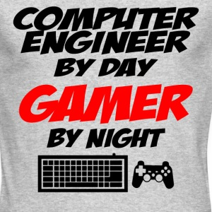 COMPUTER ENGINEER GAMER Long Sleeve Shirts - Men's Long Sleeve T-Shirt by Next Level