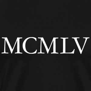 MCMLV Year 1955 Birthday T-Shirt - Men's Premium T-Shirt