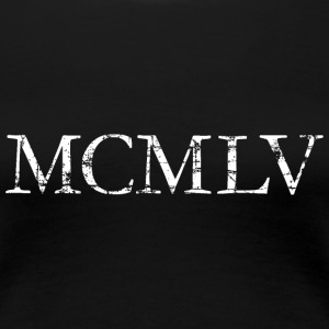 MCMLV Year 1955 Birthday T-Shirt - Women's Premium T-Shirt