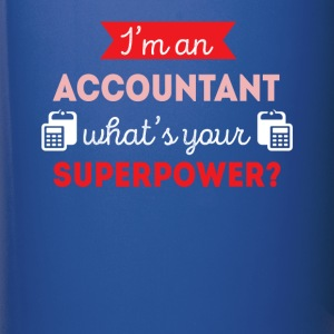 Accountant Superpower Professions T-shirt Mugs & Drinkware - Full Color Mug