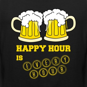 Happy Hour is Every Hour - Men's Premium Tank