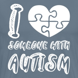 I Love Someone with Autism T-Shirts - Men's Premium T-Shirt