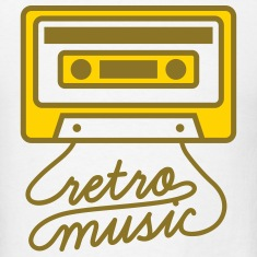 Retro Music Cassette Tape T-Shirts