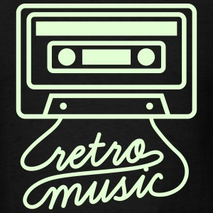 Retro Music Cassette Tape T-Shirts - Men's T-Shirt