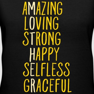 Awesome Mother Women's T-Shirts - Women's V-Neck T-Shirt