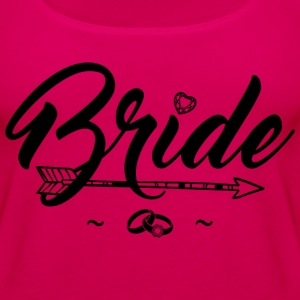 Bride - Women's Premium Tank Top