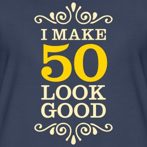 I Make 50 Look Good Women's T-Shirts - Women's Premium T-Shirt