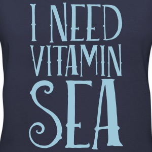 I Need Vitamin Sea Women's T-Shirts - Women's V-Neck T-Shirt