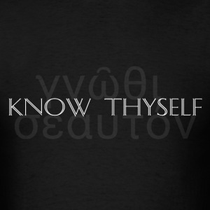 Know Thyself - Men's T-Shirt