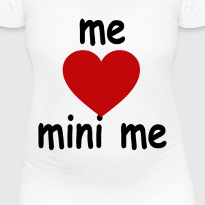 mini_me_maternity_tshirt - Women's Maternity T-Shirt