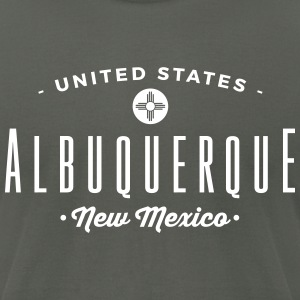 Albuquerque T-Shirts - Men's T-Shirt by American Apparel