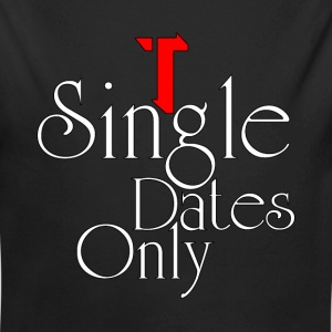 Single Dates Only Kids Baby Long Sleeve One Piece - Long Sleeve Baby Bodysuit