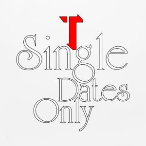Single Dates Only Mouse Pad - Mouse pad Horizontal