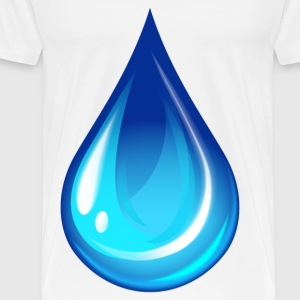 water drop - Men's Premium T-Shirt