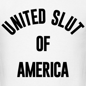 UNITED SLUT OF AMERICA - Men's T-Shirt