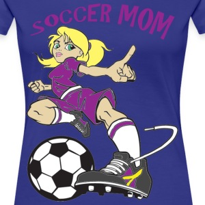 SOCCER DAD - Women's Premium T-Shirt