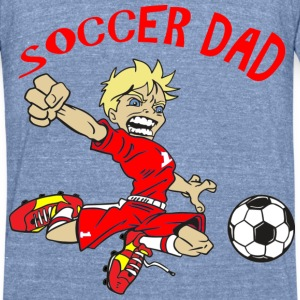 SOCCER DAD - Unisex Tri-Blend T-Shirt by American Apparel
