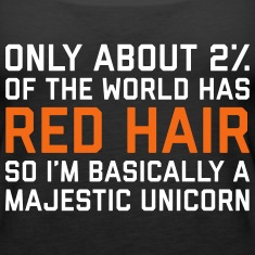 Red Hair Funny Quote Tanks