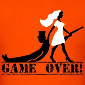 game over bride and groom T-Shirts - Men's T-Shirt