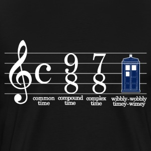 Funny doctor who - Men's Premium T-Shirt