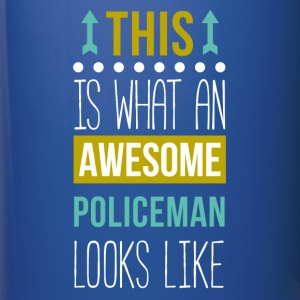 Awesome Policeman Professions Police T-shirt Mugs & Drinkware - Full Color Mug
