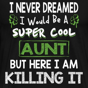 Super COOL AUNT - Men's Premium T-Shirt