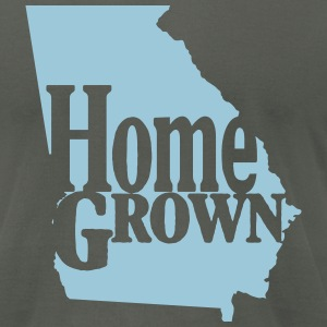 Home Grown Georgia - Men's T-Shirt by American Apparel