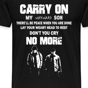 Carry On Wayward Son - Men's Premium T-Shirt