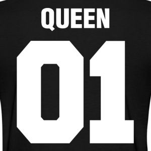Queen 01 Wedding Couple Man Woman Women's T-Shirts - Women's T-Shirt