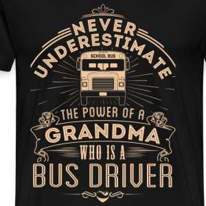 BUS DRIVER - GRANDMA - Men's Premium T-Shirt