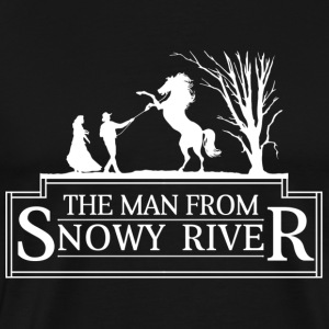 The Man from Snowy River - Men's Premium T-Shirt