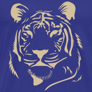 Blue Tiger - Men's Premium T-Shirt