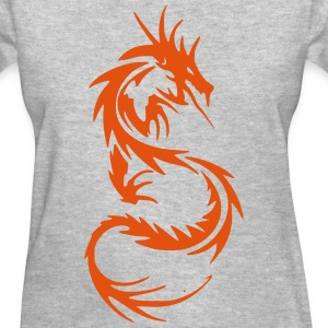 Tribal Dragon Women's T-Shirts - Women's T-Shirt
