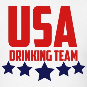 USA Drinking Team  T-Shirts - Men's T-Shirt