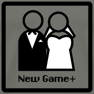 New Game Plus Marriage M/F Men's - Men's Premium T-Shirt