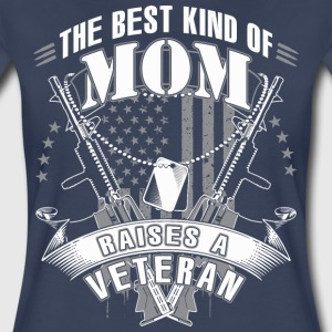 The best kind of Mom raises a Veteran - Women's Premium T-Shirt