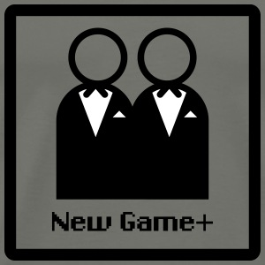 New Game Plus Marriage M/M Men's - Men's Premium T-Shirt