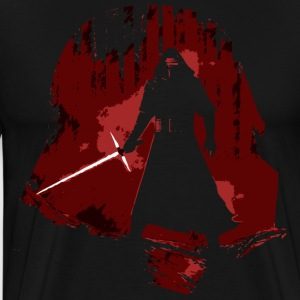 Kylo Ren and Vader T-Shirts - Men's Premium T-Shirt