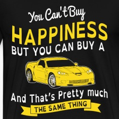 HAPPINESS AND SPORTS CAR