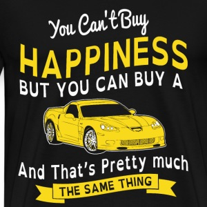 HAPPINESS AND SPORTS CAR - Men's Premium T-Shirt