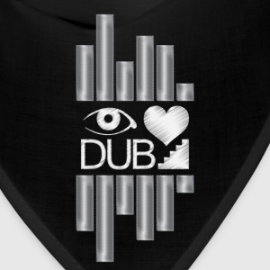 I Heart Dubstep Caps - Bandana
