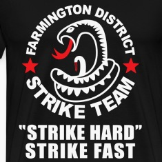 THE SHIELD INSPIRED FARMINGTON DISTRICT STRIKE