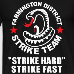 THE SHIELD INSPIRED FARMINGTON DISTRICT STRIKE - Men's Premium T-Shirt
