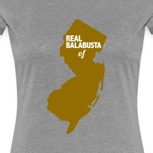 Real bababusta of NJ Women's T-Shirts - Women's Premium T-Shirt