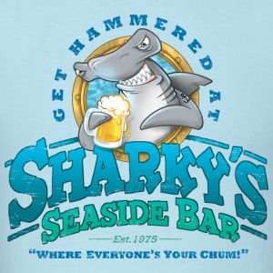 Sharky's Seaside Bar - Men's T-Shirt